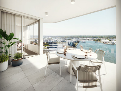 PENTHOUSE PERFECTION AWAITS WITH SPECTACULAR WATERFRONT VIEWS