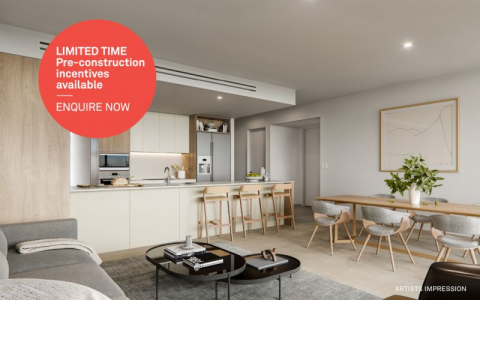 LIMITED TIME! Pre-construction incentives available!