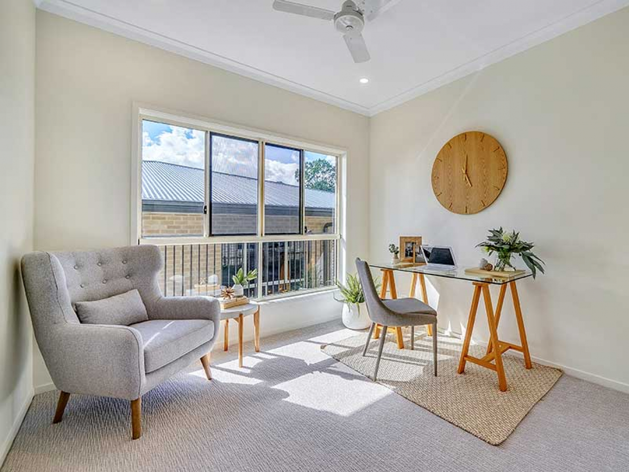 This brand new villa at Stretton Gardens offers convenience and ease 80/209  Illaweena Street - Drewvale 4116 Retirement Property for Sale