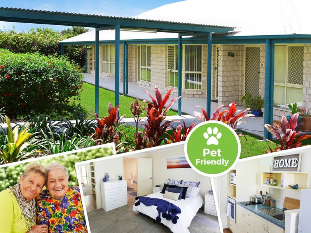 Rental in Retirement Community - Couples Unit with Kitchenette.