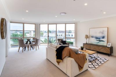 Bright, spacious, comfortable living