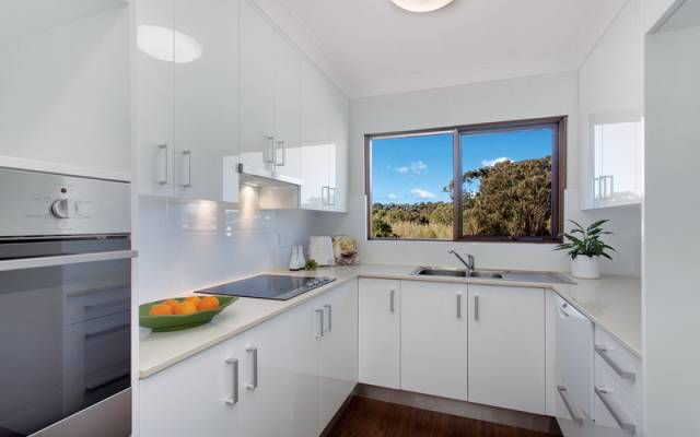 Stunning first floor home with gorgeous views from every window.
