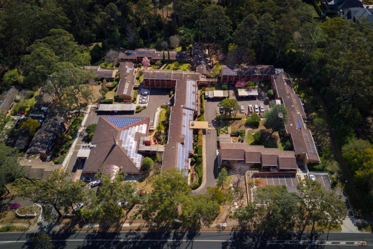 Tranquil retirement living with extensive community facilities.