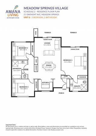 Amana Living's Meadow Springs Village 21  Oakmont Avenue - Meadow Springs 6210 Retirement Property for Sale