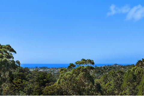 Ocean views and raked ceilings, make this spacious home a must!