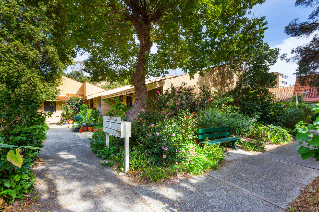 SwanCare Private Terraced Homes   Bollig Gardens - Bentley 6102 Retirement Property for Sale