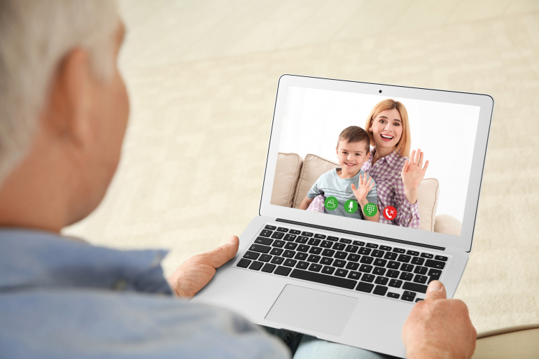 Socialising amid coronavirus: Seniors urged to use technology