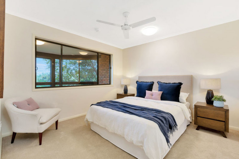 Great location with beautiful bushland views