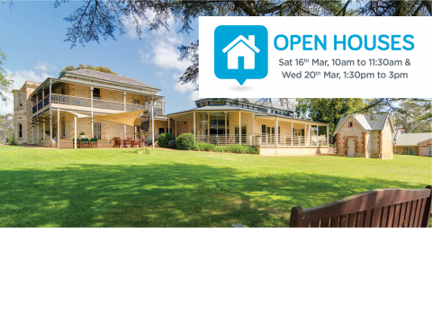 You're invited to The Laurels' open houses!