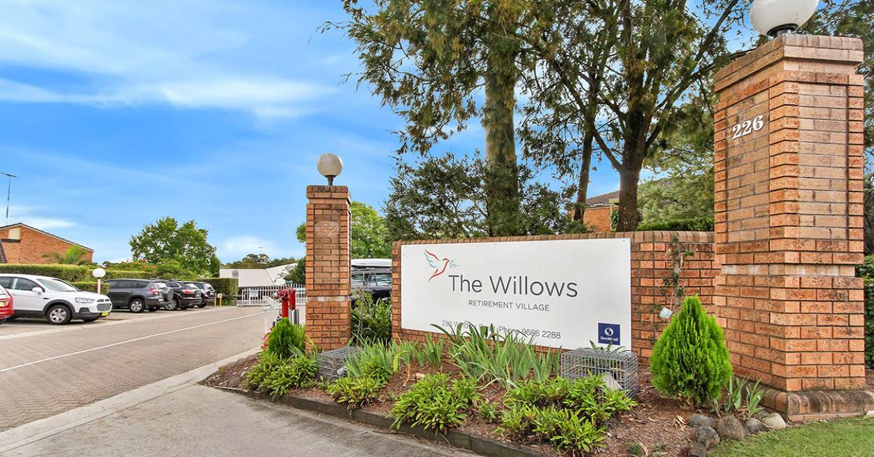 The Willows Retirement Village 226 Windsor Road  - Winston Hills 2153 Retirement Property for Sale