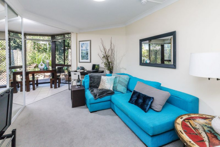 One Bedroom Unit with Enclosed Courtyard, Storage Cage & Car Space