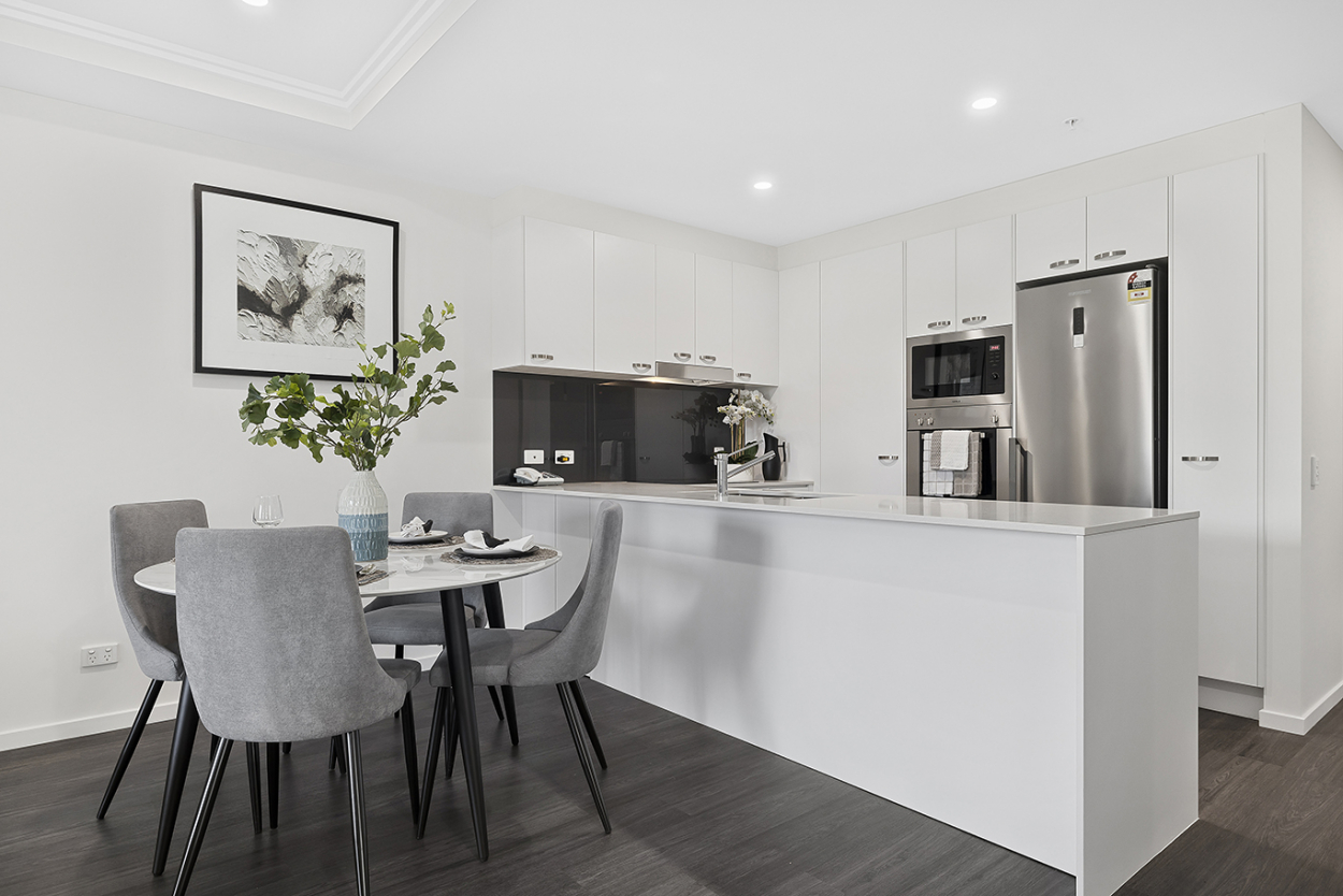 Spacious three-bedroom apartment in resort-style surrounds  147 Oldfield Road - Sinnamon Park 4073 Downsizing Apartment for Sale