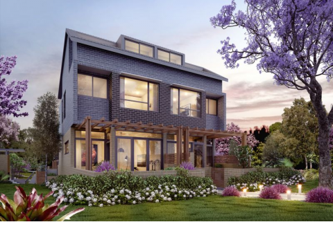 Brand New Townhouses, 3 Bedroom & Study
