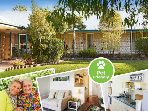 Rental in Retirement – Independent living community. Single Unit with Kitchenette. Affordable. Great value.