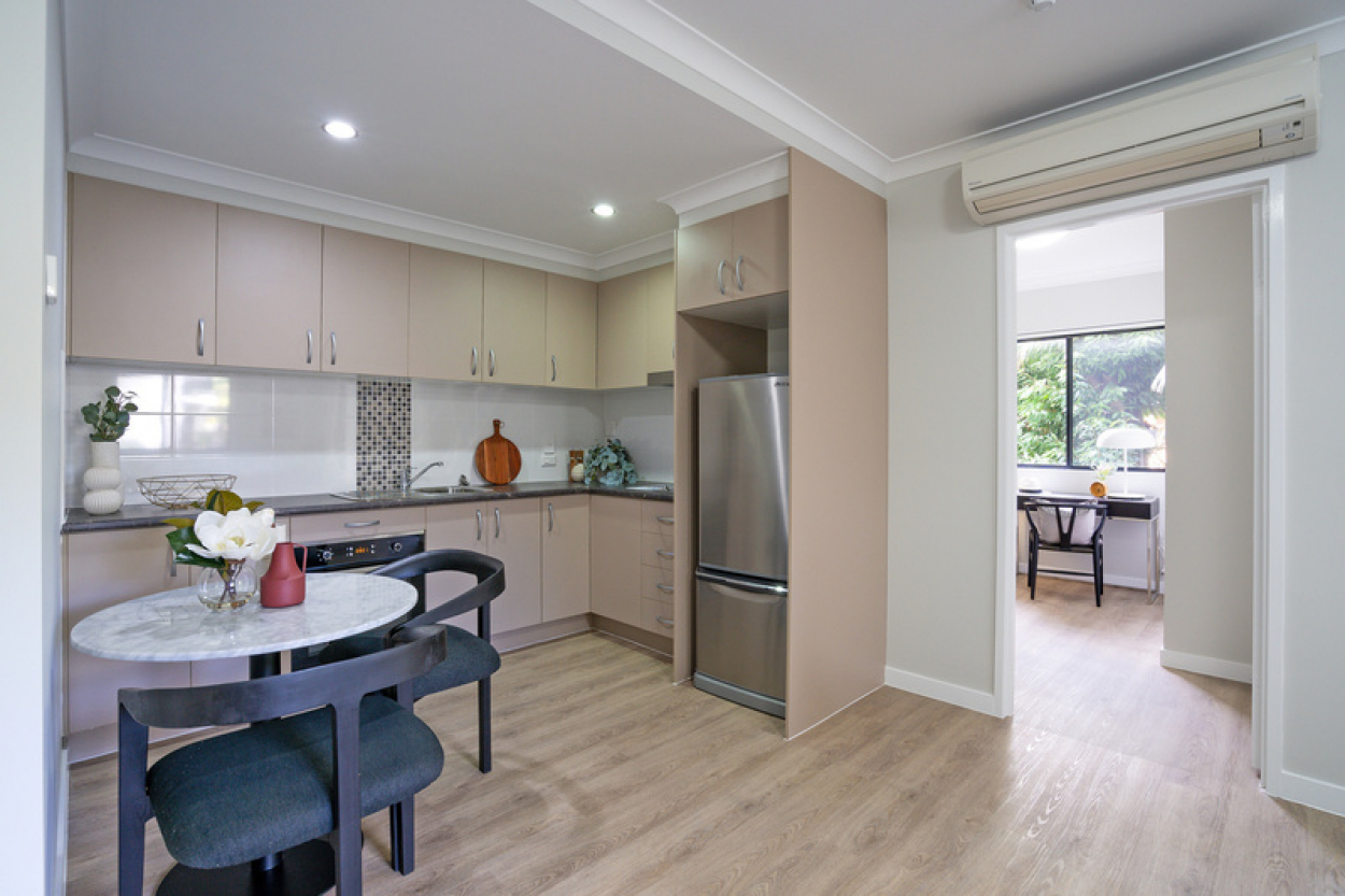 Two Bedroom Apartment with Garden Outlook