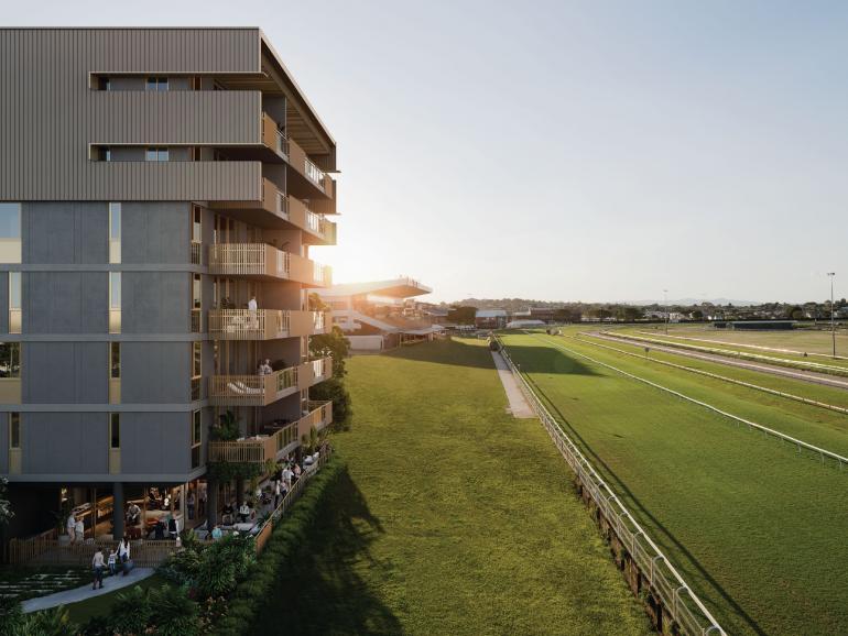 The stunning Bernborough Ascot project is set alongside Doomben racecourse