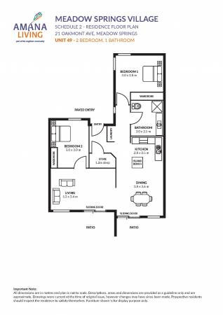 Amana Living Meadow Springs 21  Oakmont Avenue - Meadow Springs 6210 Retirement Property for Sale