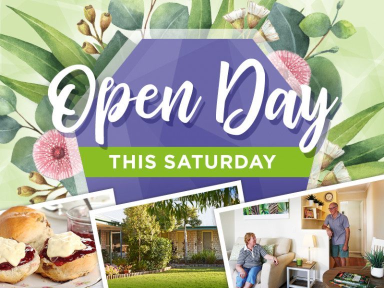 You're invited to come to our free Spring Open Day!