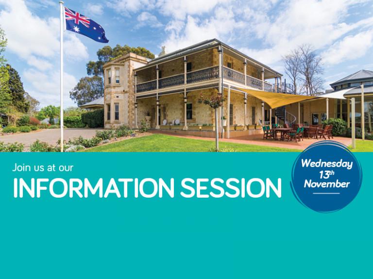 The Laurels Information Session