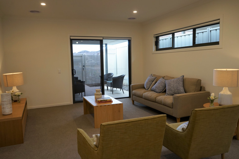 Secure your spot in the popular Mernda Village – spacious 2 bed villa with rare double garage