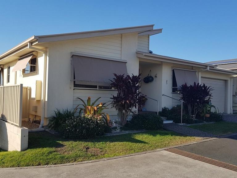 Popular Eucalyptus design two bedroom home for sale in Palm Lake Resort, Eagleby