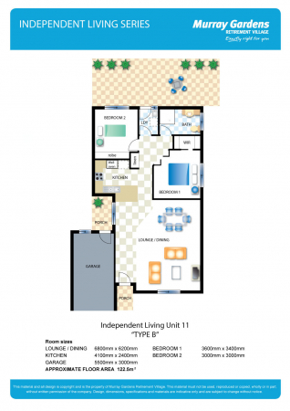 Independent Living Unit 11