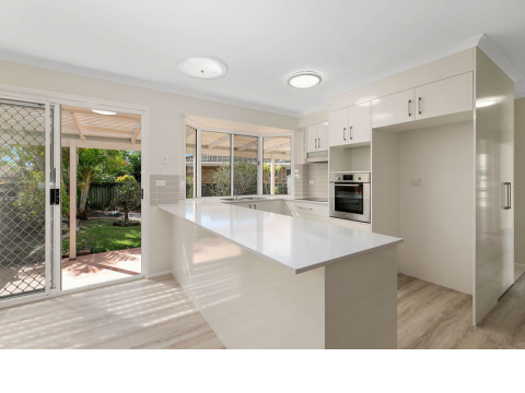 Stylish elegance meets easy care, contemporary living