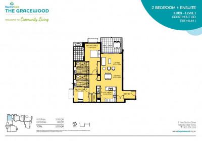 2 Bedroom Open Plan Living - Almost New
