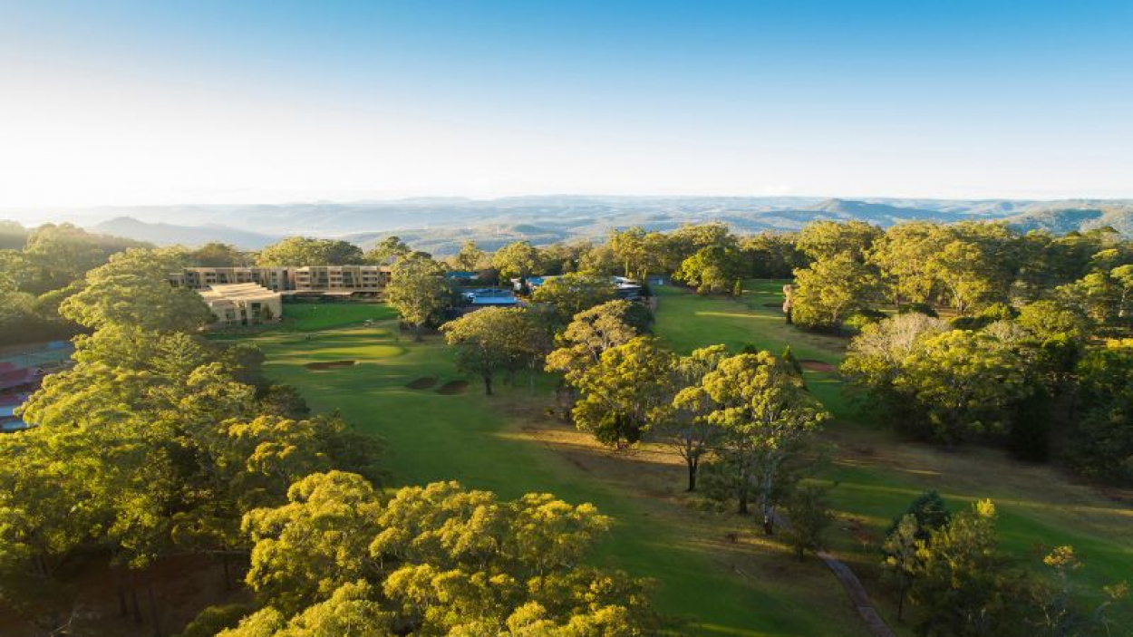 Bask in the stunning golf course views