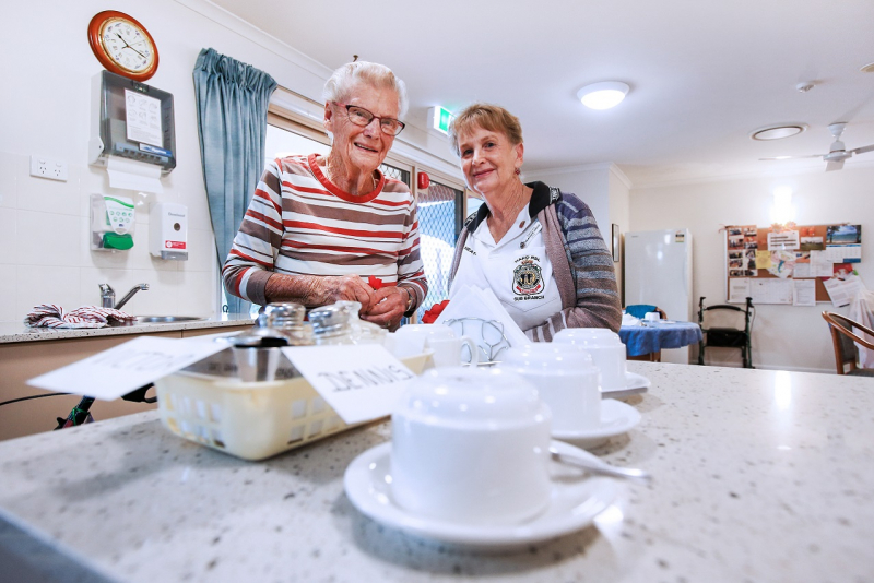 Churches of Christ Care Petrie Gardens Aged Care Service