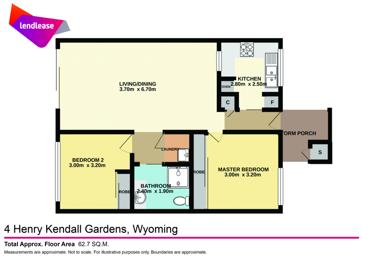 Enjoy the enclosed private courtyard of this north facing two bedroom unit