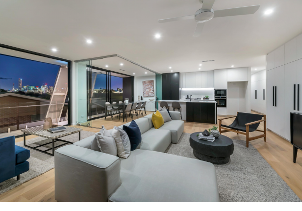 Inspect Now! City View Penthouse with HUGE Wrap-Around Balcony at The Hathaway