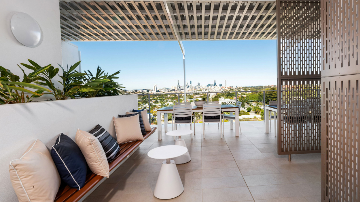 Only 3 apartments left with city views!   The Atrium Lutwyche