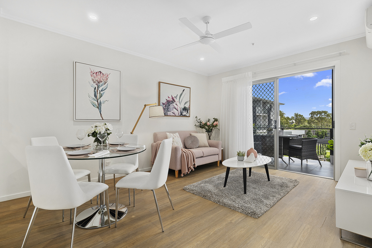 Modern, one-bedroom seniors' living apartment 147 Oldfield Road - Sinnamon Park 4073 Downsizing Apartment for Sale
