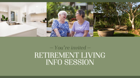 Retirement Living Info Session