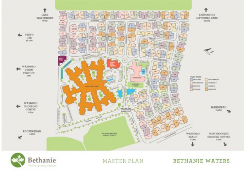 Bethanie Waters Retirement Village