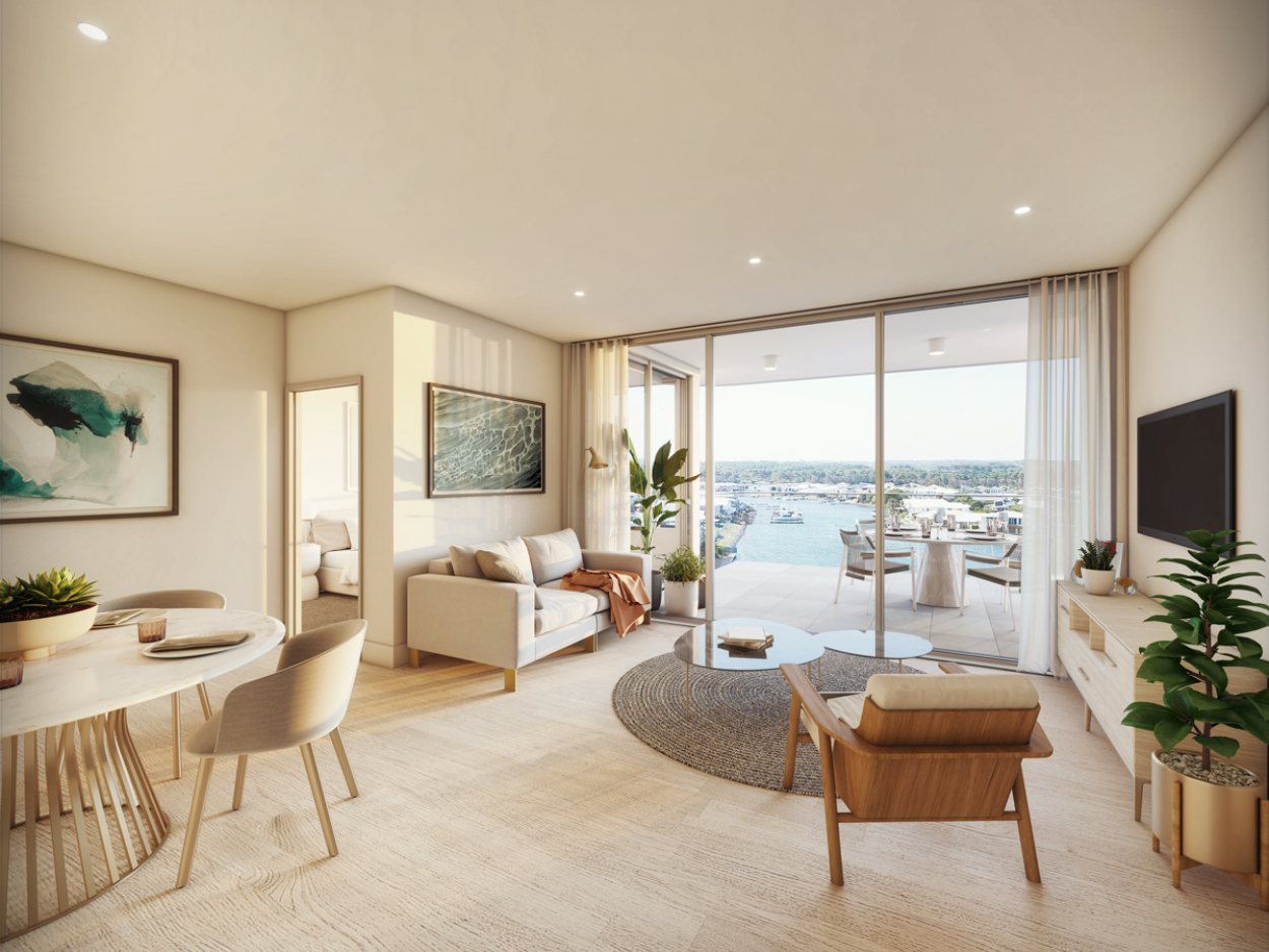 LUXURIOUS 3 BEDROOM APARTMENT IN THE HEART OF HOPE ISLAND
