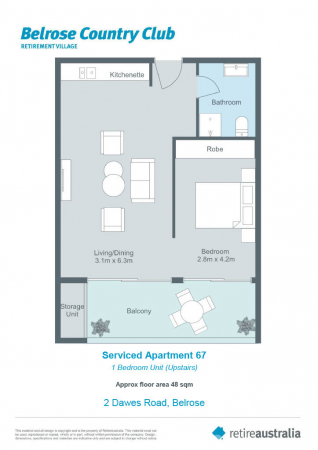 Sunny, peaceful and convenient serviced apartment
