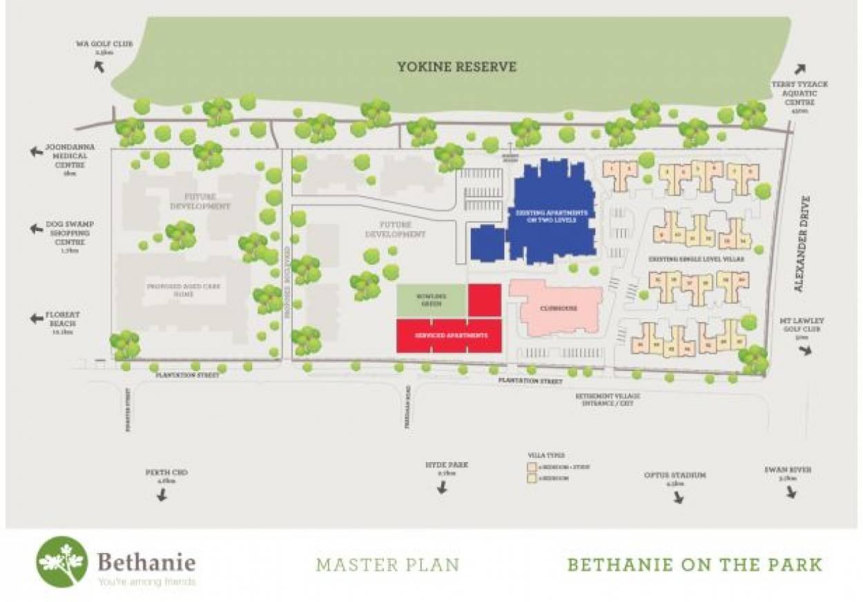 Bethanie Geneff Retirement Village 39  Hertha Road - Innaloo 6018 Retirement Property for Sale