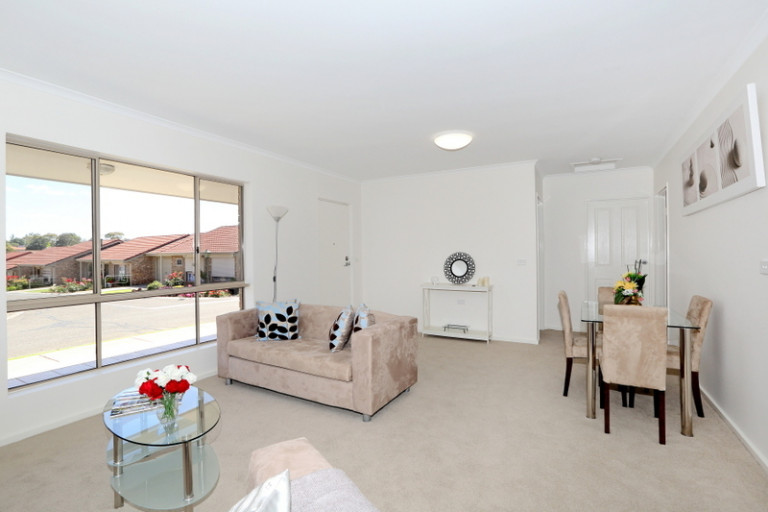 Large two bedroom, lovely outlook, convenient position!