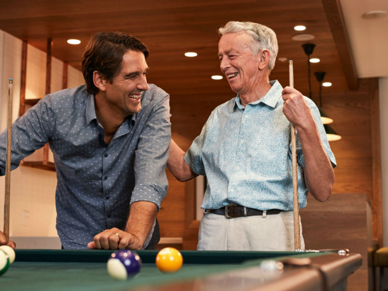 Relaxed retirement living starts here.