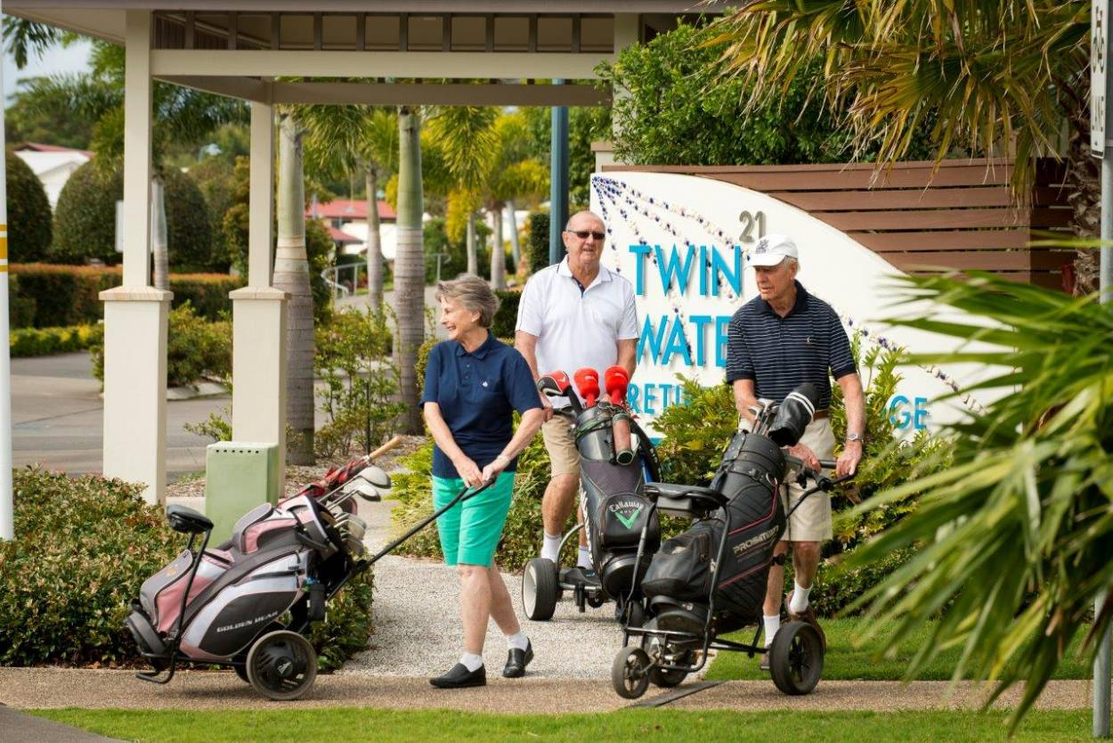 Resort style waterfront retirement community 21 Baywater Drive - Twin Waters 4564 Retirement Property for Sale