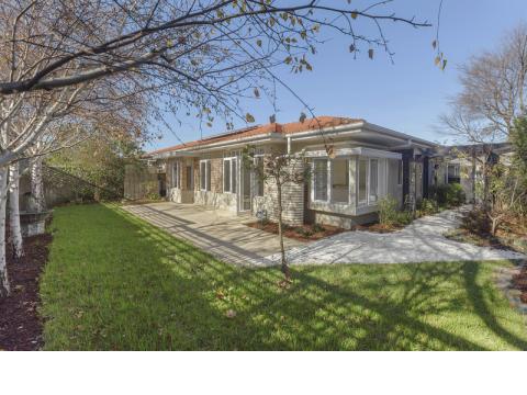 Spacious Villa with beautiful garden views.