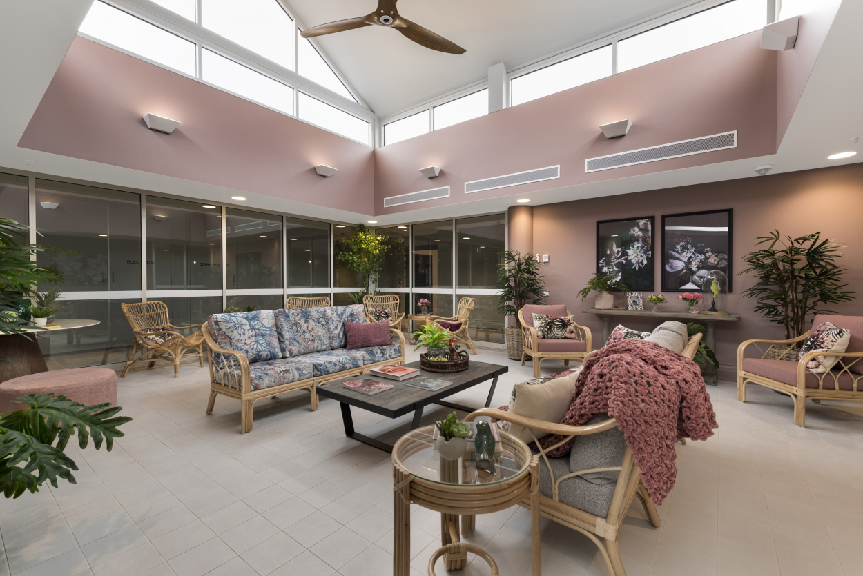 Studio Apartment Living - Aspire Aged Care by LDK