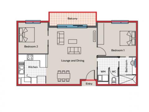 Apartment 142, Main Street Village