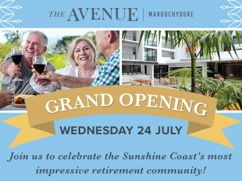 GRAND OPENING | The Avenue Maroochydore