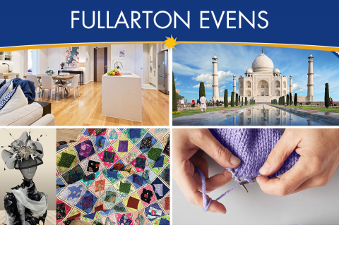 Invitations to upcoming events at Fullarton