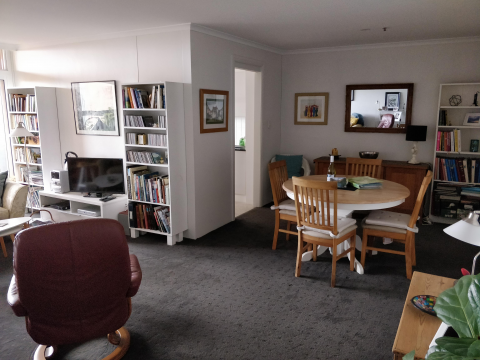 Apartment available for two months from August 11th.