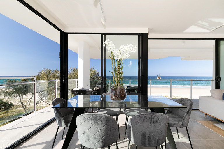 Incredible absolute beachfront living at Palm Beach!
