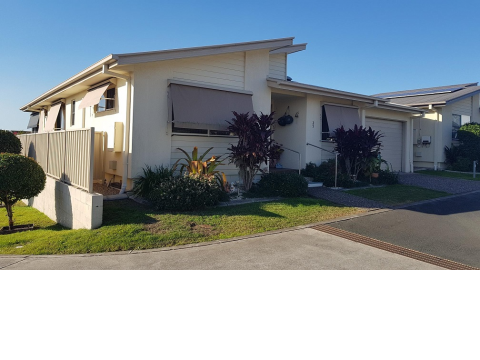 Popular Eucalyptus design two bedroom home for sale in Palm Lake Resort, Eagleby